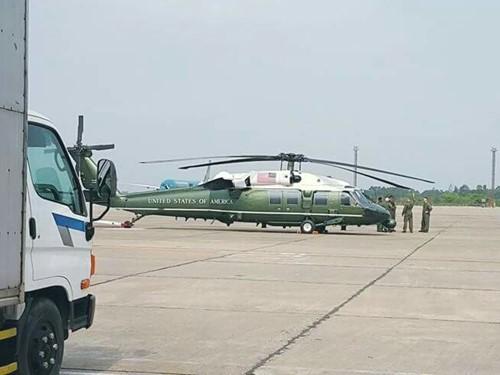 Vì sao Obama không dùng 2 trực thăng hộ tống ở VN?