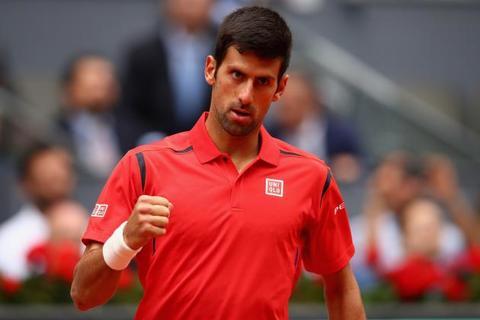 Novak Djokovic 3-0 Steve Darcis