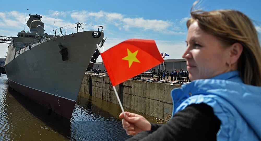 Nga hạ thủy chiến hạm Báo đốm đóng cho VN