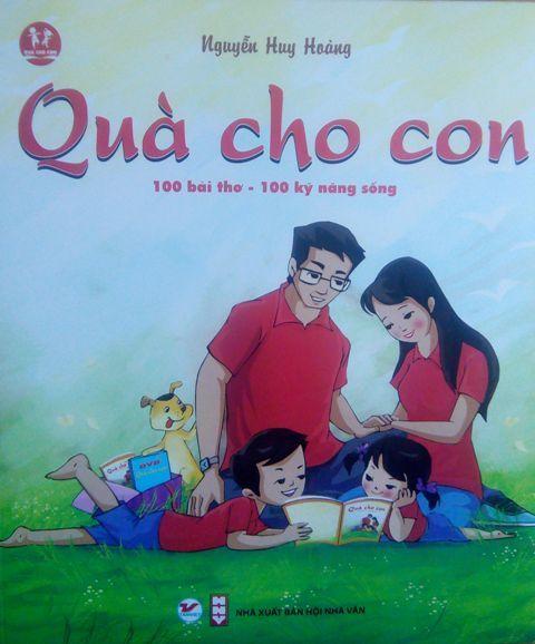 quà cho con, Nhà thơ Nguyễn Quang Thiều, nghệ sĩ Xuân Bắc