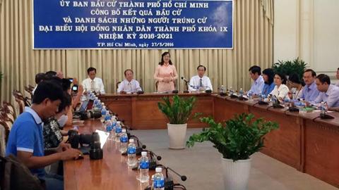 bầu cử đại biểu QH, Lê Trương Hải Hiếu, diễn viên Bình Minh, tự ứng cử, Nguyễn Thị Quyết Tâm