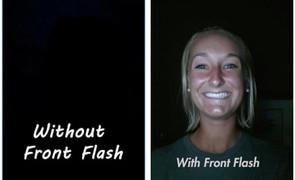Mẹo tạo flash để selfie hoàn hảo với camera trước