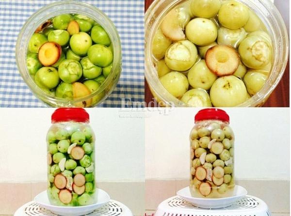 dưa muối, ngày hè, dưa chua, muối dưa, ẩm thực