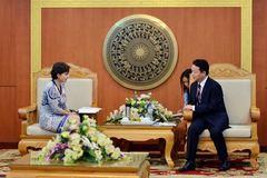 Italia hỗ trợ Việt Nam quản lý lưu vực sông Hồng
