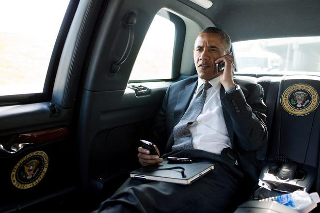 Tâm điểm CN, điện thoại đặc biệt, Tổng thống Obama, điện thoại BlackBerry