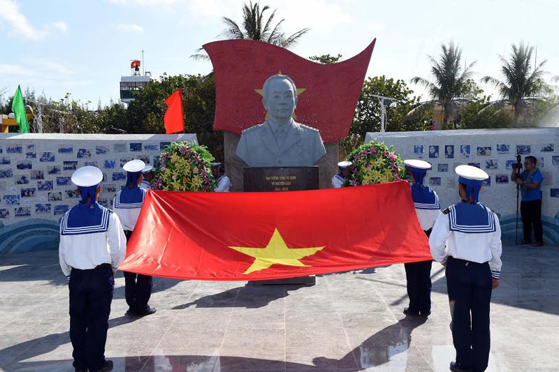 Đại tướng Võ Nguyên Giáp, đảo Sơn Ca, chủ quyền, Trường Sa