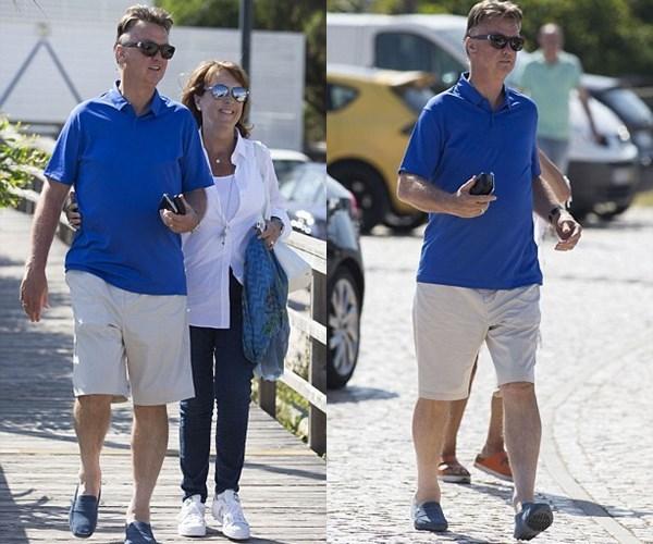 Gạt nỗi buồn sa thải, Van Gaal đưa vợ đi du hí