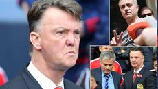 """Bị """"đâm sau lưng"""", Van Gaal thề cạch mặt Mourinho"""