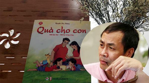 Nhà thơ Hữu Việt, Hữu Việt, Quà cho con, thơ Quà cho con, Huy Hoàng
