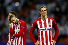 Cầu thủ Atletico khóc nức nở vì hụt ngôi vương