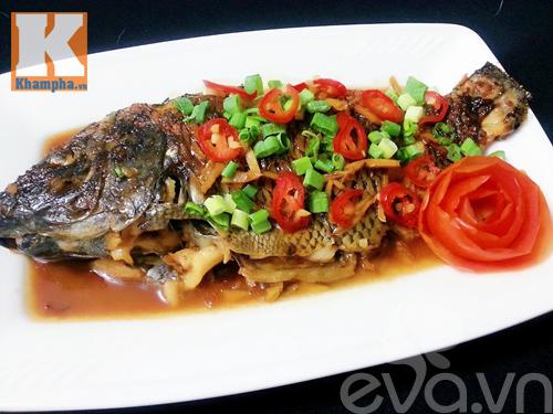 các món ngon từ cá, thực đơn cuối tuần, cá nướng muối ớt, chạo tôm cá, cá thu sốt cà chua, cá rô phi dim xì dầu, công thức món ngon