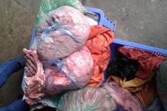 Thịt lợn xanh lè giá 20.000/kg vào thẳng quán ăn