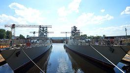 Việt-Nga thảo luận đóng thêm 2 khu trục hạm 'Gepard'