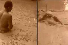 10 clip 'nóng': Dùng người làm mồi bắt lươn điện 'khủng'