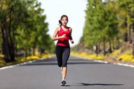 chạy bộ, uống nước, trao đổi chất