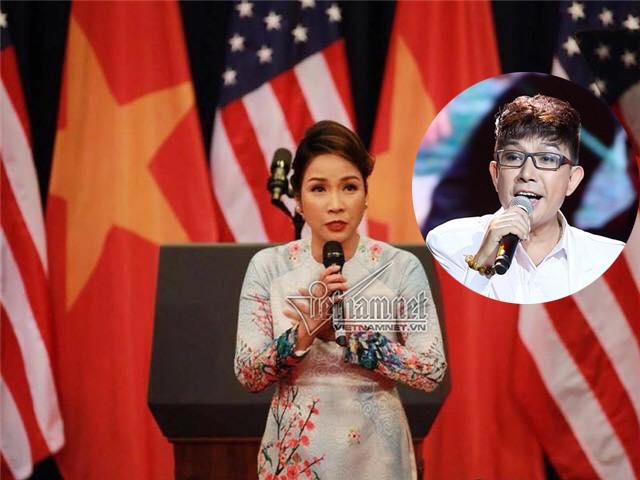 Long Nhật, Mỹ Linh, Mỹ Linh hát Quốc ca, Obama đến việt nam, Quốc ca, Tổng thống Mỹ