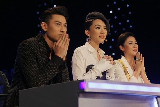 Thần tượng âm nhạc nhí, Isaac, Tóc Tiên, Văn Mai Hương, Hồ Văn Cường