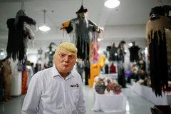 Trúng đậm nhờ mặt nạ Donald Trump