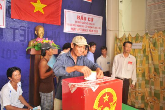 bầu cử QH, Kiên Giang, vi phạm luật bầu cử