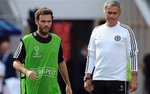 Sợ bị Mourinho đày đọa, Mata chạy sang Barca