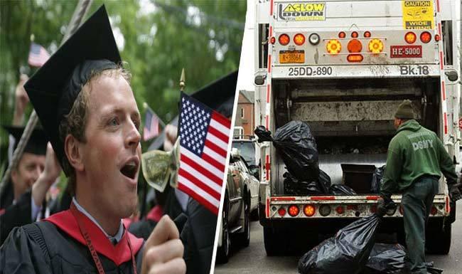 Dọn rác thu nhập 2 tỷ/năm: Cử nhân đại học khóc thầm