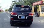 Xe Lexus tư nhân gắn biển số xanh ở miền Tây
