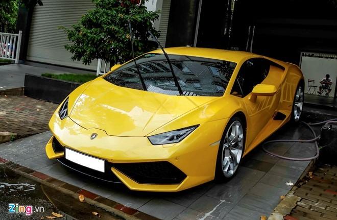 Siêu xe, Lamborghini Huracan, Cường Đôla, Nguyễn Quốc Cường, ô tô, sưu tập, thiếu gia