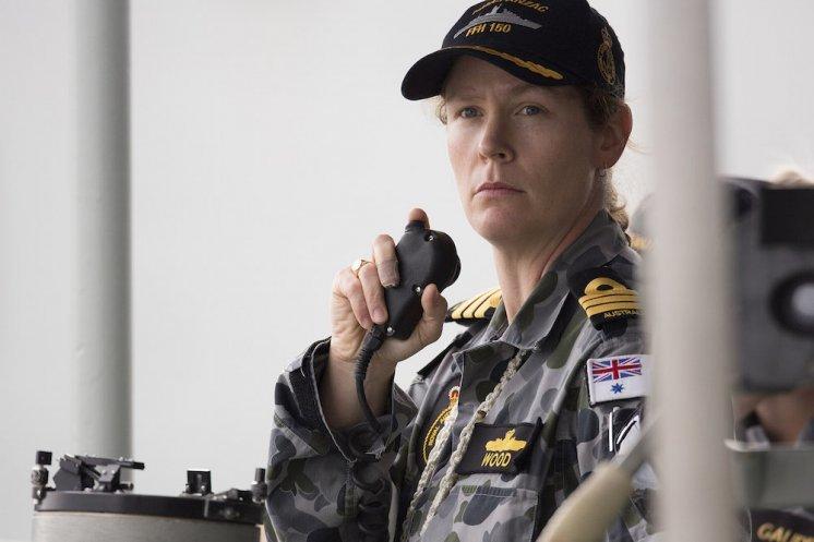 Hải quân, thuyền trưởng, Belinda Wood, chiến thuyền, tàu chiến, tàu khu trục, Hải quân Hoàng gia Australia