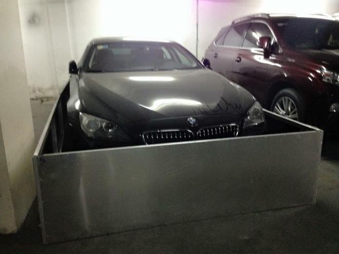 Sài thành: Dùng inox quây kín BMW 640i Gran Coupe để....chống chuột