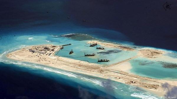 Biển Đông, Trung Quốc, nước Mỹ, đảo nhân tạo, UNCLOS