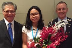 Nữ sinh Ngoại thương được chọn làm đại sứ du học bang Nam Úc