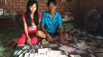 Vợ bỏ đi, chồng bệnh thận mãn, con nguy cơ bỏ học