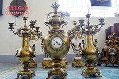 Chiêm ngưỡng bộ sưu tập đồng hổ cổ độc nhất xứ Nghệ