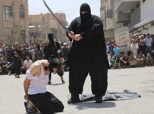 đao phủ, IS, xe ủi đất, Nhà nước Hồi giáo
