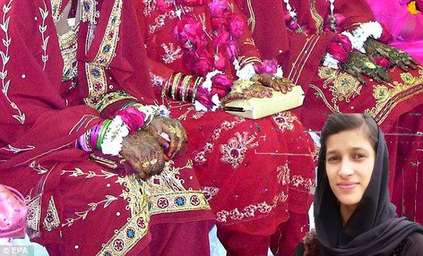 thiếu nữ, Pakistan, từ chối, cầu hôn
