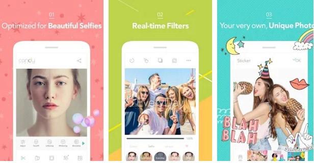 ứng dụng, chụp ảnh tự sướng, selfie, tự sướng