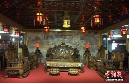 bàn ghế, gỗ cẩm lai vàng, tiền tỷ, đồ gỗ, gỗ quý, gỗ mít, nhà gỗ, Trung Quốc, sưu tập