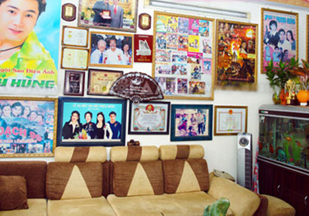 Lý Hùng, nhà đẹp của Lý Hùng, căn nhà đầy kỉ niệm