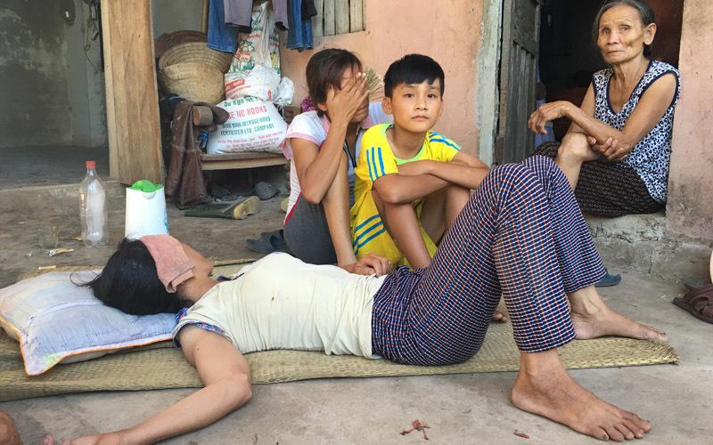 Nổ xe khách: Chết thảm trên đường về cắt lúa cho vợ