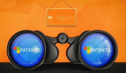 Microsoft, bằng sáng chế, hãng di động TQ, Xiaomi,