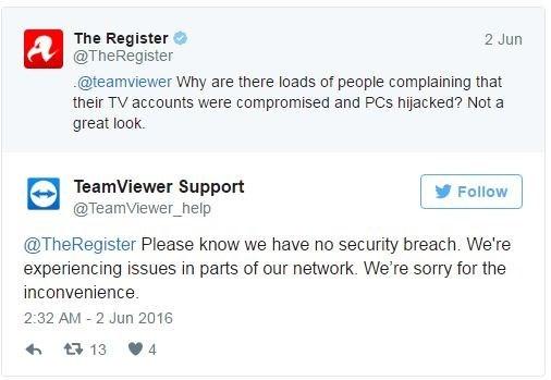 TeamViewer, hack, tin tặc, chuyển tiền