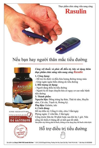 Thực đơn hợp lý cho người tiểu đường