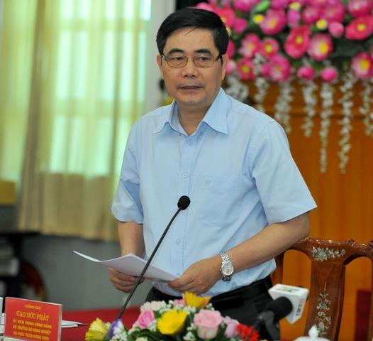Chủ tịch MTTQ Việt Nam Nguyễn Thiện Nhân, Hợp tác xã kiểu mới, Võ Kim Cự, nông dân Việt Nam