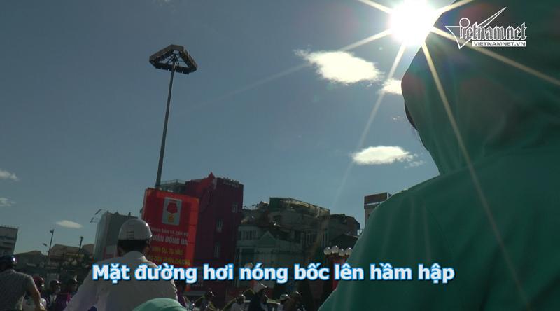 nắng đỉnh điểm, mưu sinh dưới nắng, nắng chói chang, nắng nóng