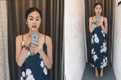 Tăng Thanh Hà bất ngờ khoe ngực sau khi lấy chồng