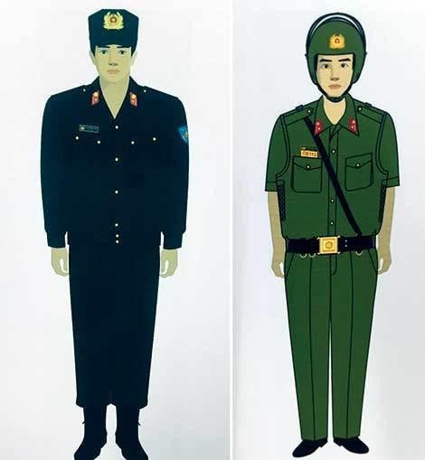 Cảnh sát 113, cảnh sát cơ động có trang phục mới