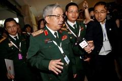 Thượng tướng Nguyễn Chí Vịnh gặp đô đốc Trung Quốc