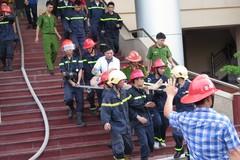 Cháy tại trụ sở Đài PTTH Hải Phòng