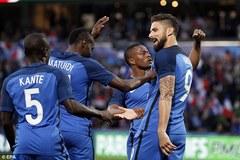 Giroud lập cú đúp, Pháp ra oai trước EURO