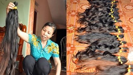 Kỳ lạ ngôi làng có 200 người xuất ngoại buôn tóc